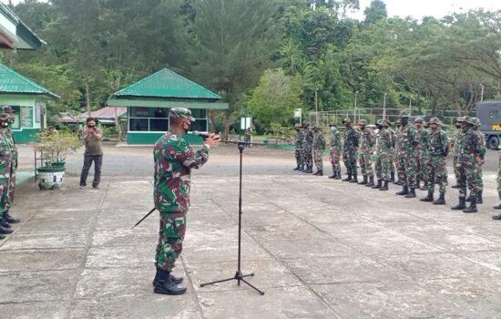 Personil Satgas TMMD ke 111 Kodim 0115/Simeulue Tiba Di Kabupaten Simeulue