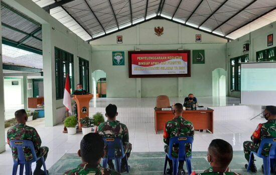 Tingkatkan Kualitas dan Kamampuan Binter, Danramil dan Babinsa Kodim Aceh Selatan Ikuti Bin Siap Apwil dan Puanter