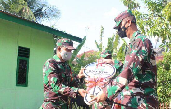 Ini Pesan Dandim 0103/Aceh Utara saat Serahkan Kunci Rumah Dinas Kepada Babinsa