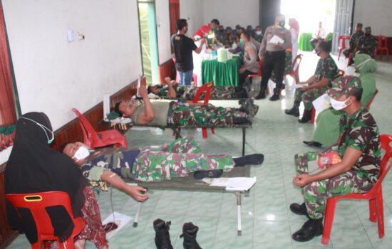 Kodim 0108/Agara Gelar Donor Darah Dalam Rangka Hari Donor Darah Sedunia