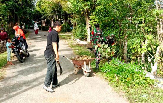 TNI Tanamkan Gerakan Peduli Lingkungan