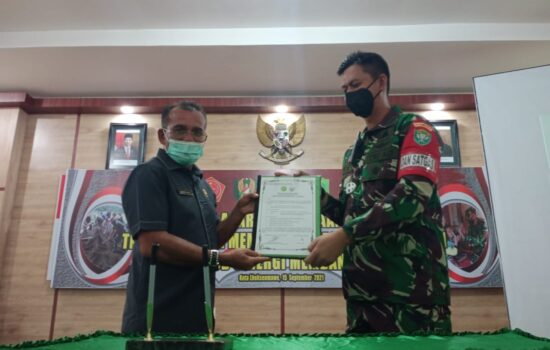 TMMD ke-112 TA.2021 Kodim 0103/Aceh Utara Secara Resmi Dibuka