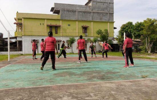 Jaga Kebugaran Tubuh, Kodim Abdya Gelar Olahraga Rutin