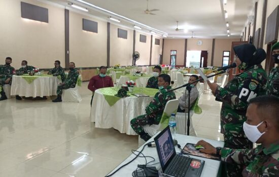 Menjelang Pembukaan TMMD ke-112 TA.2021, Kodim 0103/Aceh Utara Laksanakan Gladi Bersih.