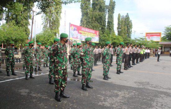 TNI-Polri Gelar Apel Pasukan Operasi Patuh Seulawah 2021