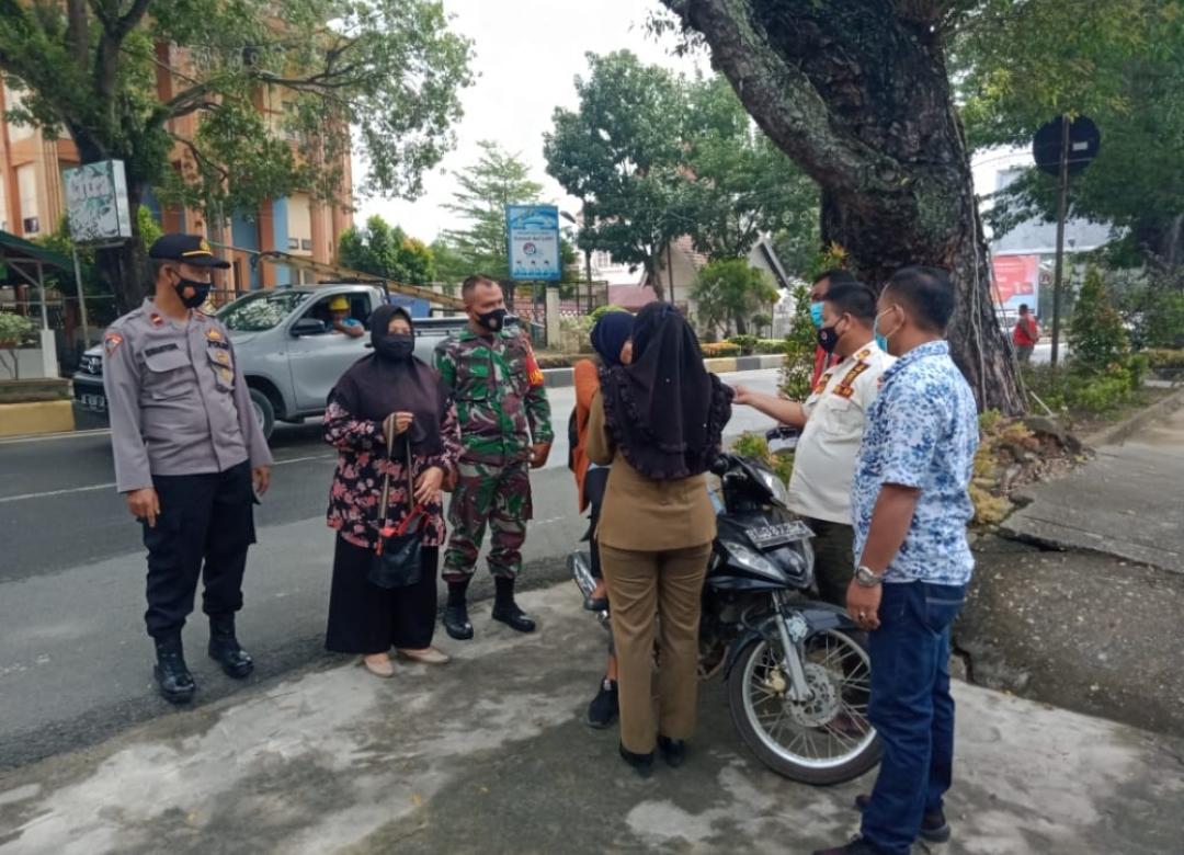 Meski Hari Libur, Tim Peucrok Tetap Gencar Laksanakan Operasi Yustisi di Kota Langsa